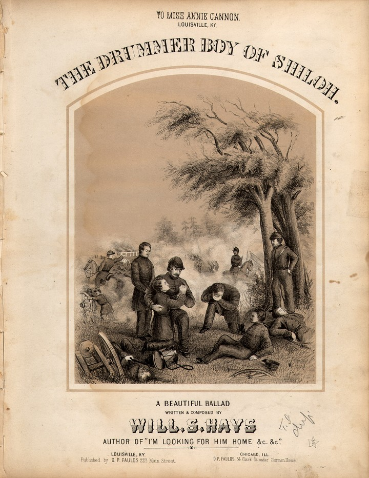 battle of shiloh poem