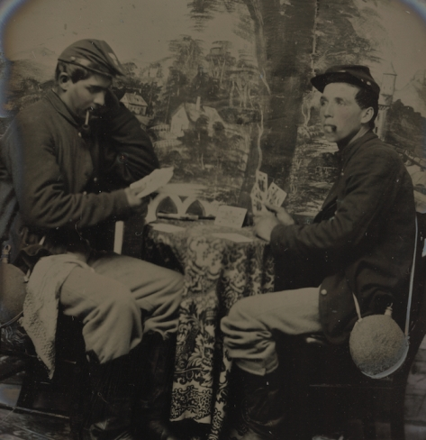 Civil War gambling