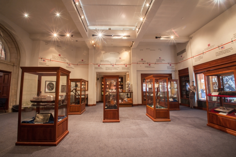 Lincoln Memorial Shrine Exhibit Hall