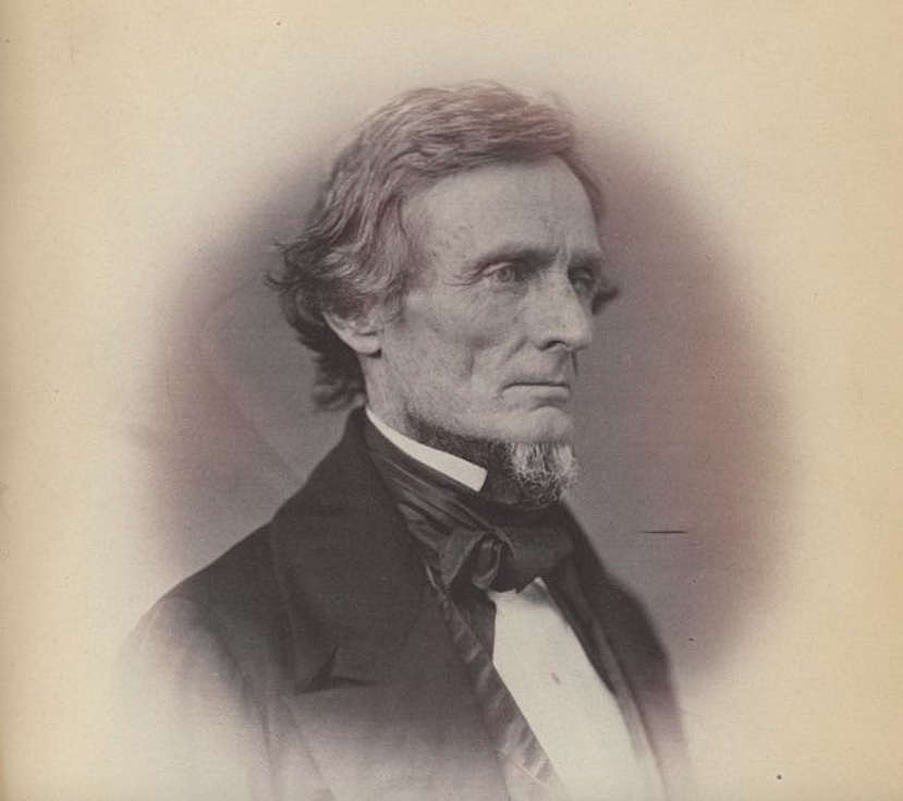 U.S. Senator Jefferson Davis in 1859