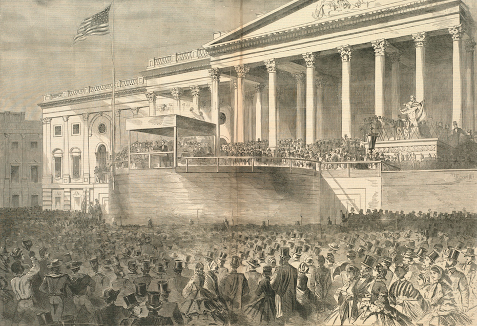 Winslow Homer Lincoln inauguration