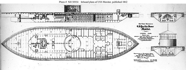 Inboard the USS Monitor   From the Archives   Civil War MonitorThe Civil War Monitor