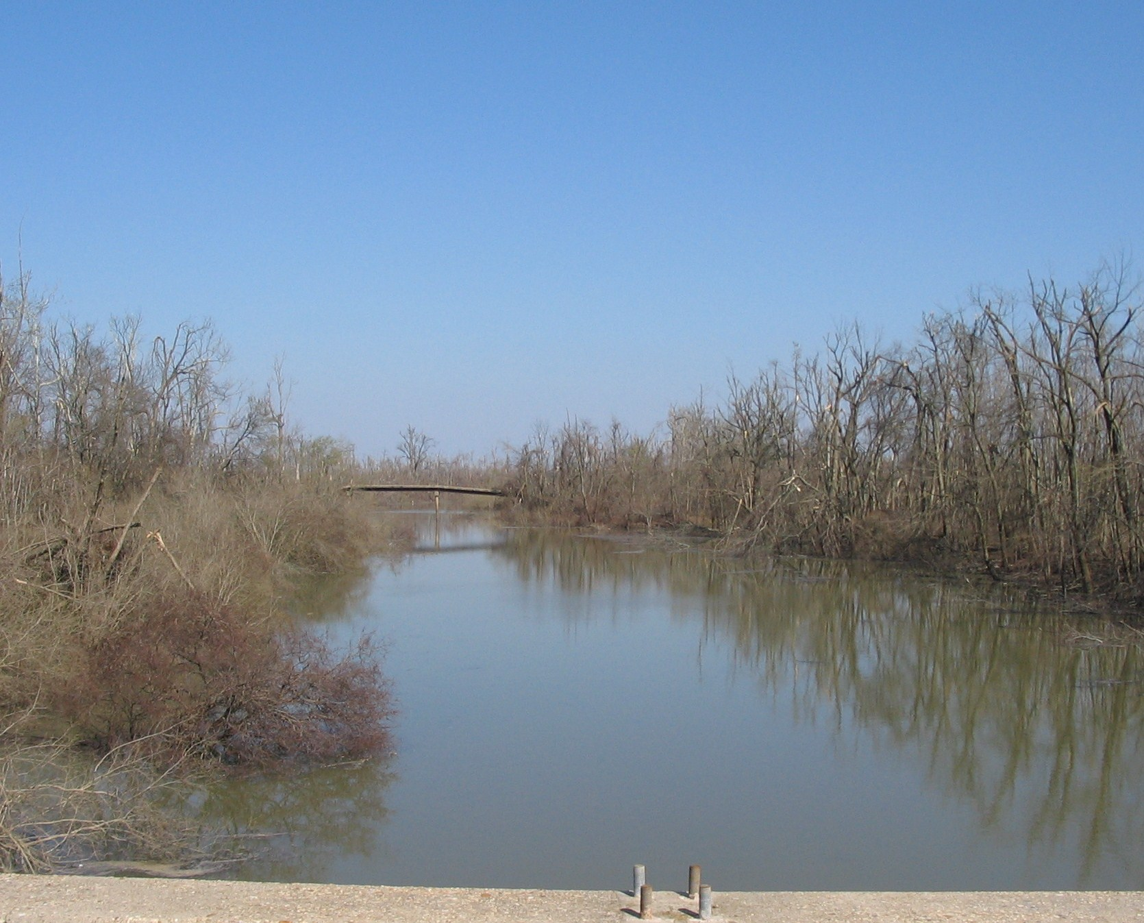 St.Johns Bayou Section of the Floodway